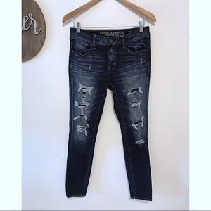 American Eagle distress vintage collection skinny